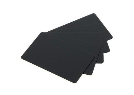 Cartes PVC noires mat