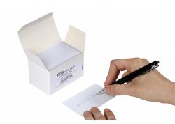 100 cartes avec panneau d'écriture
