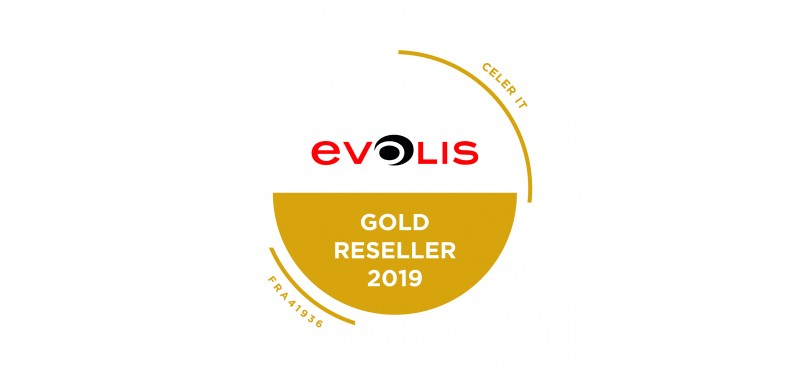 Celer-IT obtient la certification Evolis Gold Reseller 2019