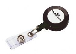 Enrouleur avec lanière bouton pression (10 pièces)