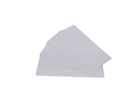 Kit 500 cartes longues blanches