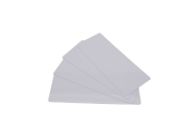 500 CARTES LONGUES BLANCHES 120X50mm 0,50 mm